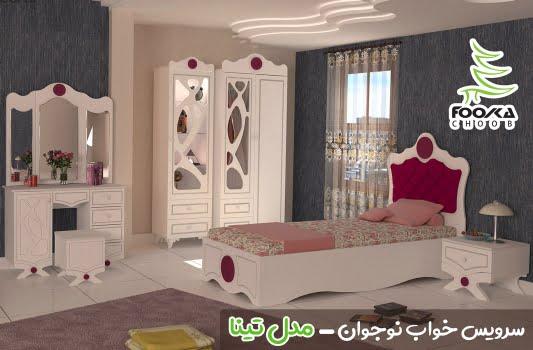 پالت رنگ سفید برای دکوراسیون اتاق خواب دخترانه بزرگسال مدل تینا