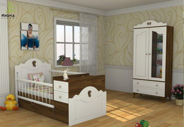 سرویس خواب نوزاد و نوجوان مدل آنجل