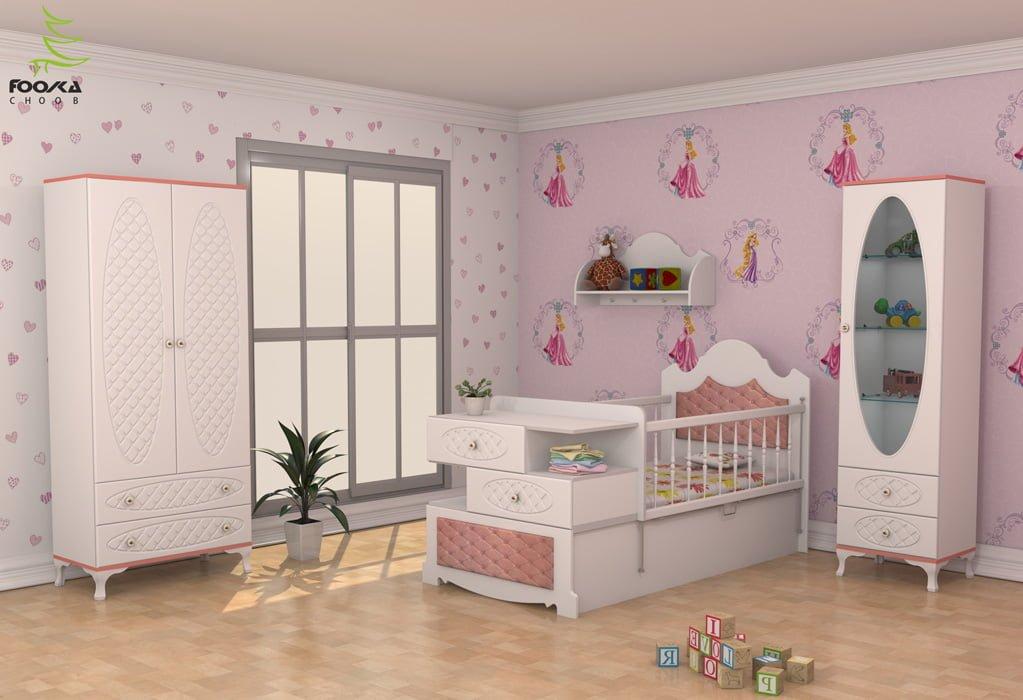 سرویس خواب نوزاد و کودک مدل السا