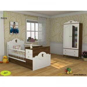 سرویس خواب نوزاد مدل آنجل