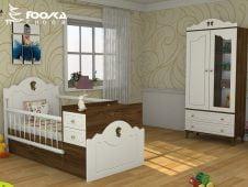 تخت و کمد نوزاد پسر مدل آنجل