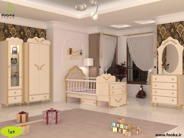 پردهای اتاق کودک بسیار زیبا مدل ویرا
