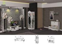 اکسسوری خانه عروس مدل نایس