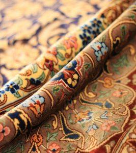 فرش ایرانی فقط برای دکوراسیون کلاسیک مخصوصا مستر خواب