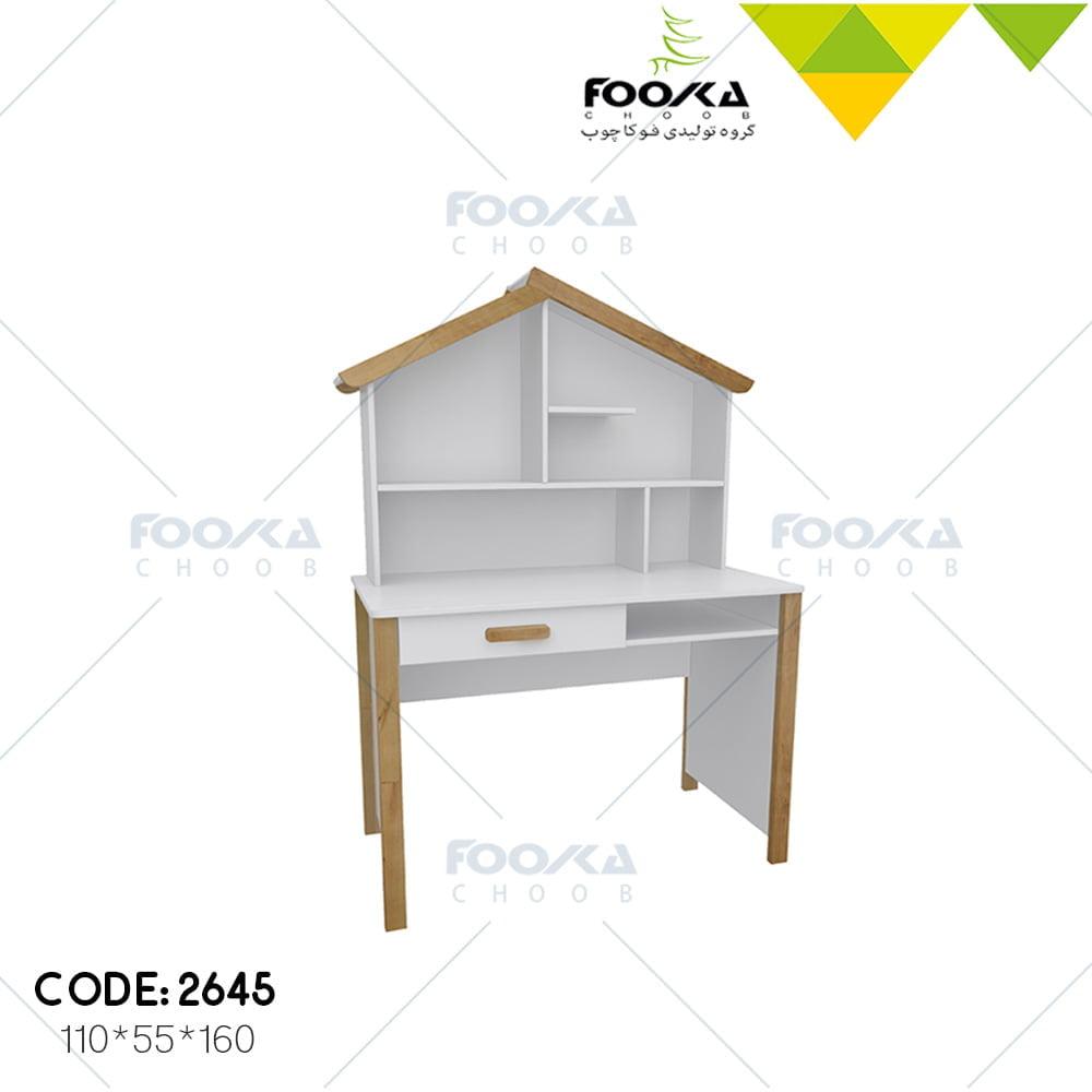 میز کامپیوتر اتاق نوجوان مدل کلبه
